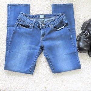 Levi's Low Rise Bold Curve Straight Leg Jeans